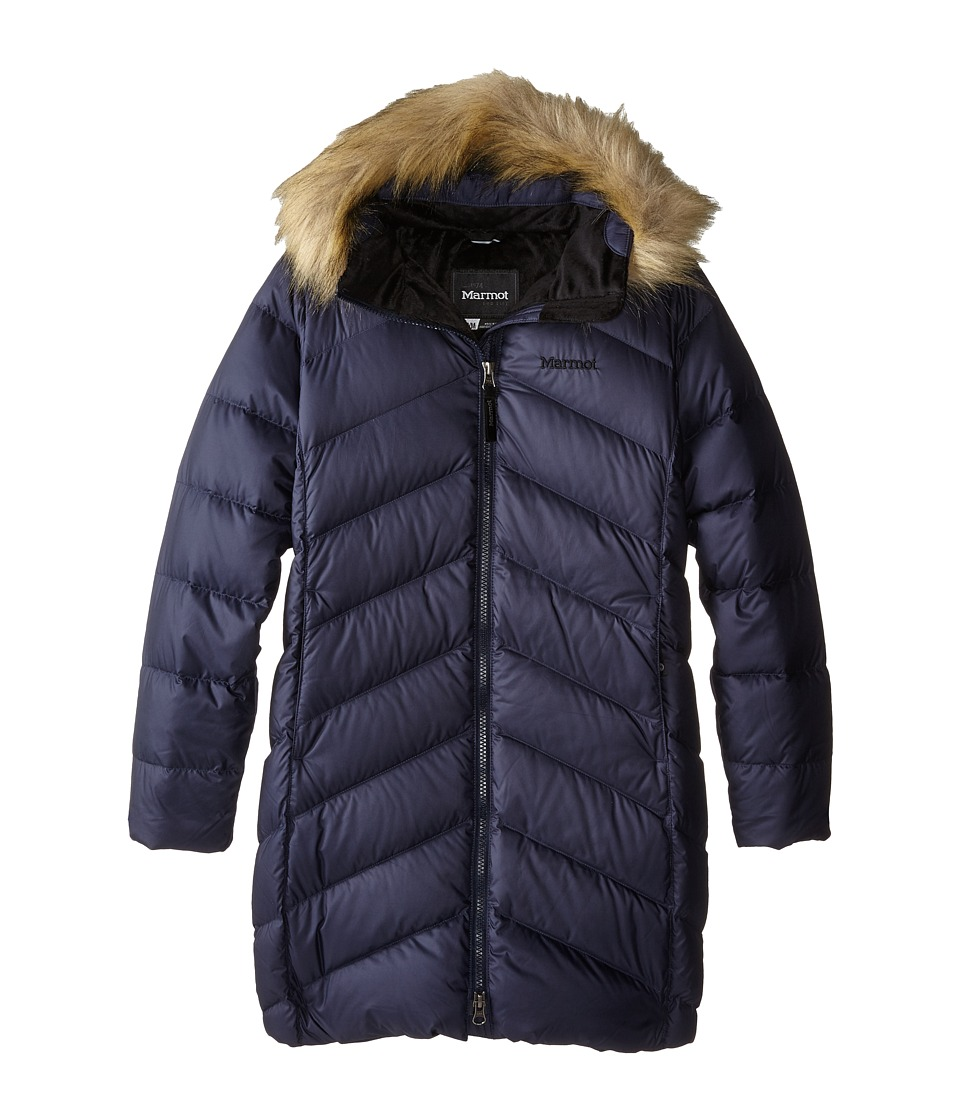 Marmot Kids - Girls' Montreaux Coat (Little Kids/Big Kids) (Midnight Navy) Girl's Coat