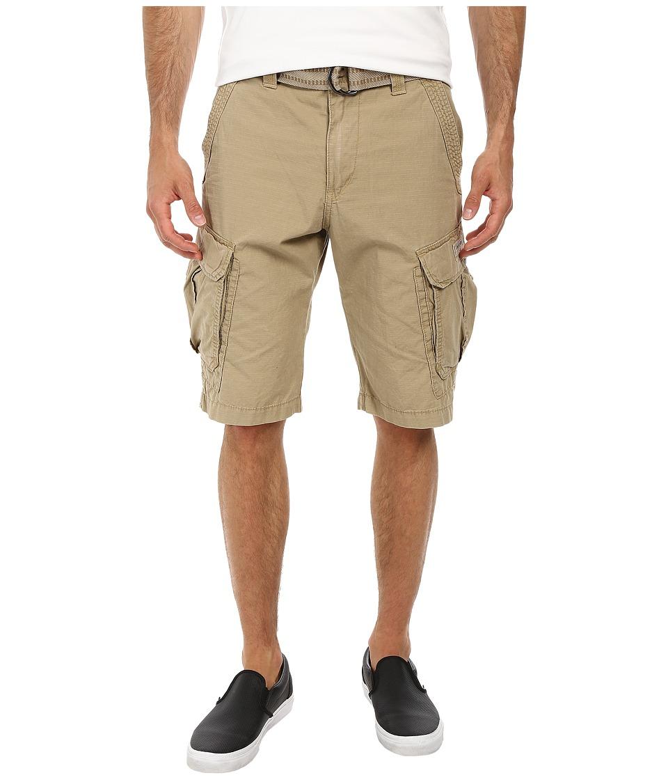 UNIONBAY - Lewis 13 Belted Short (Grain) Men's Shorts