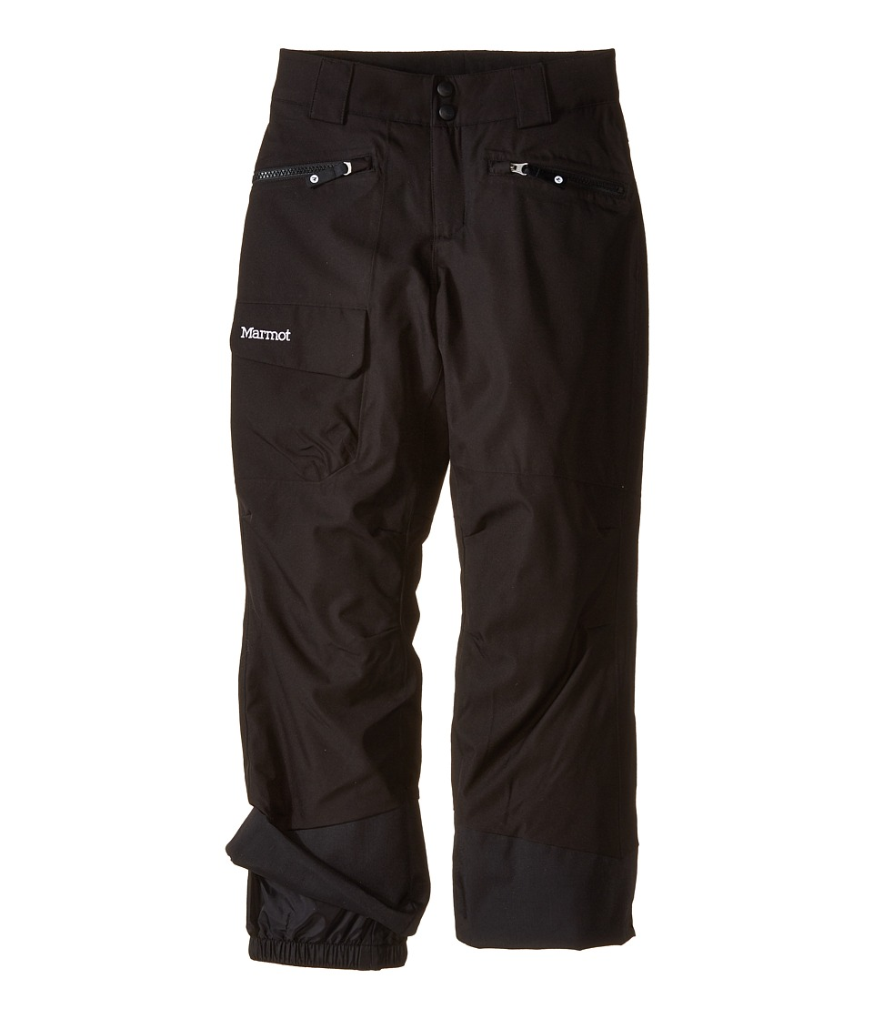 Marmot Kids - Girl's Freerider Pant (Little Kids/Big Kids) (Black) Girl's Casual Pants