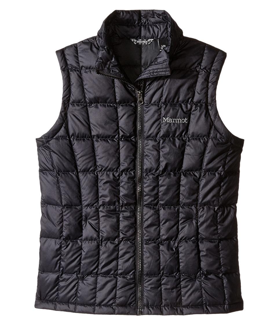 Marmot Kids - Sol Vest (Little Kids/Big Kids) (Black) Girl's Vest