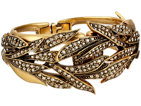 Oscar de la Renta - Pave Spike Bracelet (Cry Gold Shadow) Bracelet
