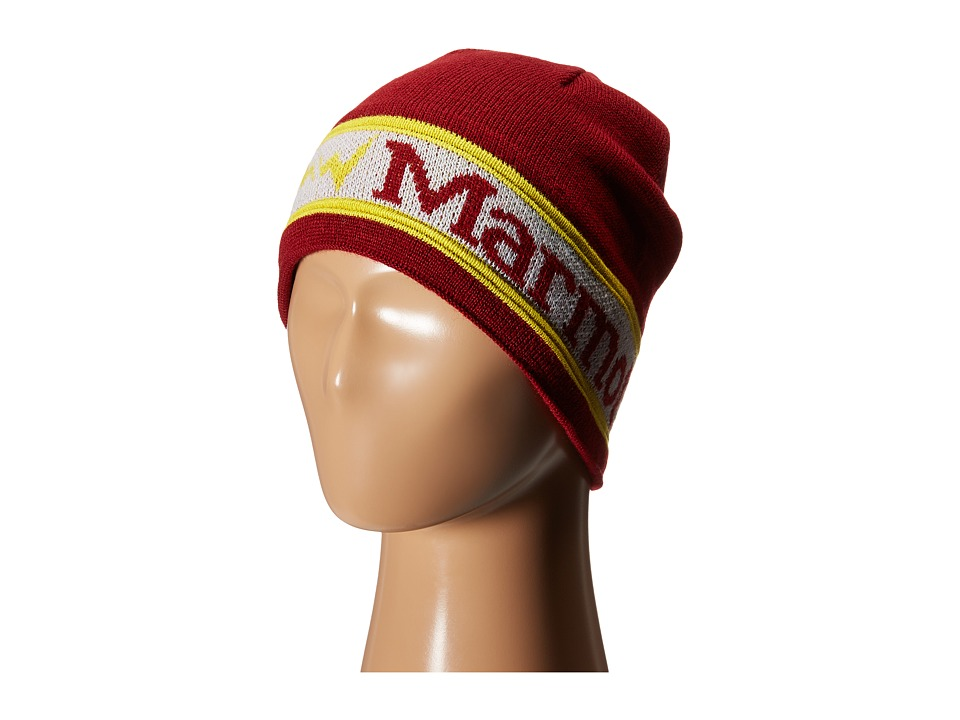 Marmot Kids - Kids' Spike Hat (Little Kids/Big Kids) (Brick) Beanies