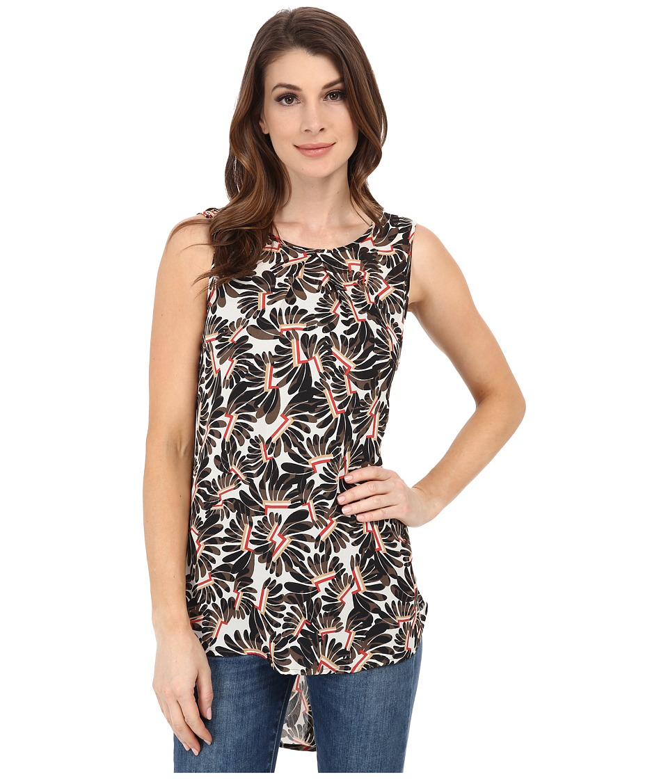 NIC+ZOE - Whirlygig Top (Multi) Women's Clothing