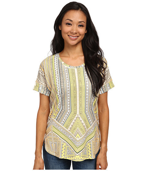 NIC+ZOE - Sun Kissed Top (Multi) Women's Blouse