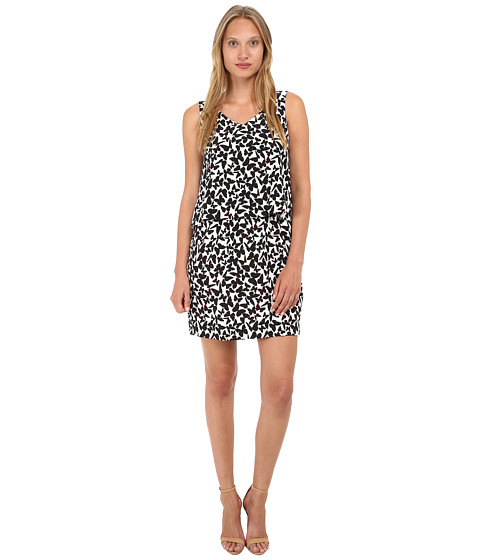 Kate Spade New York - Butterfly Double Layer Dress (Multi) Women