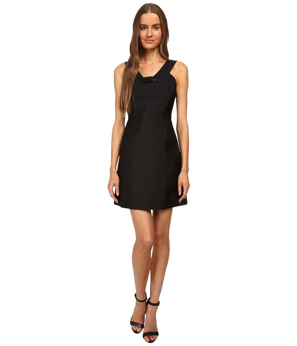 Kate Spade New York - Pave Mini Bow Dress (Black) Women's Dress