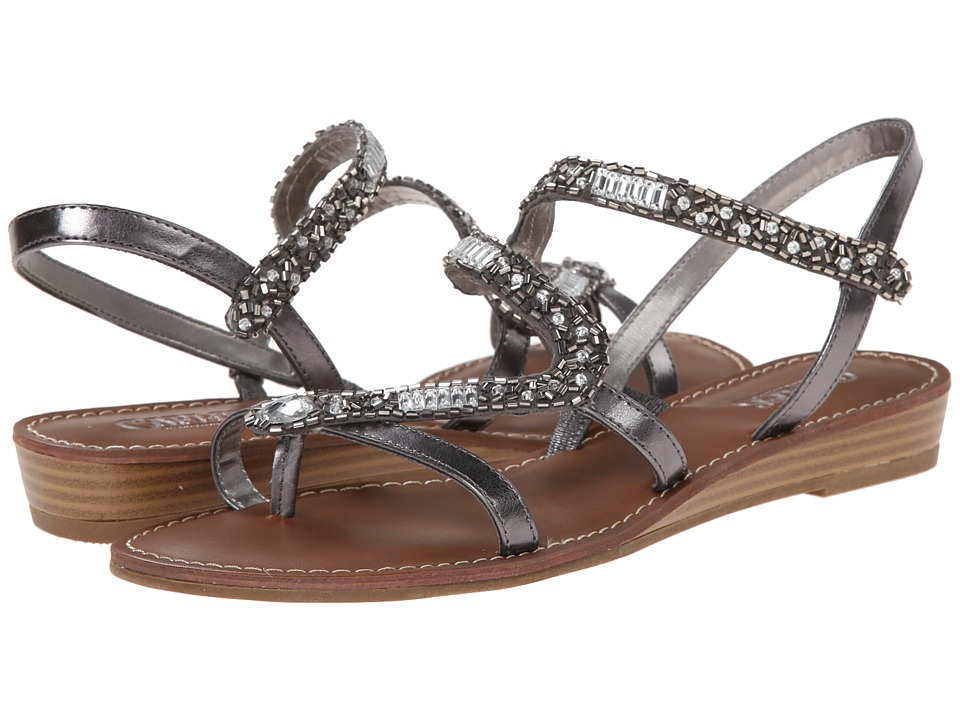 CARLOS by Carlos Santana - Athena (Pewter) Women's Sandals