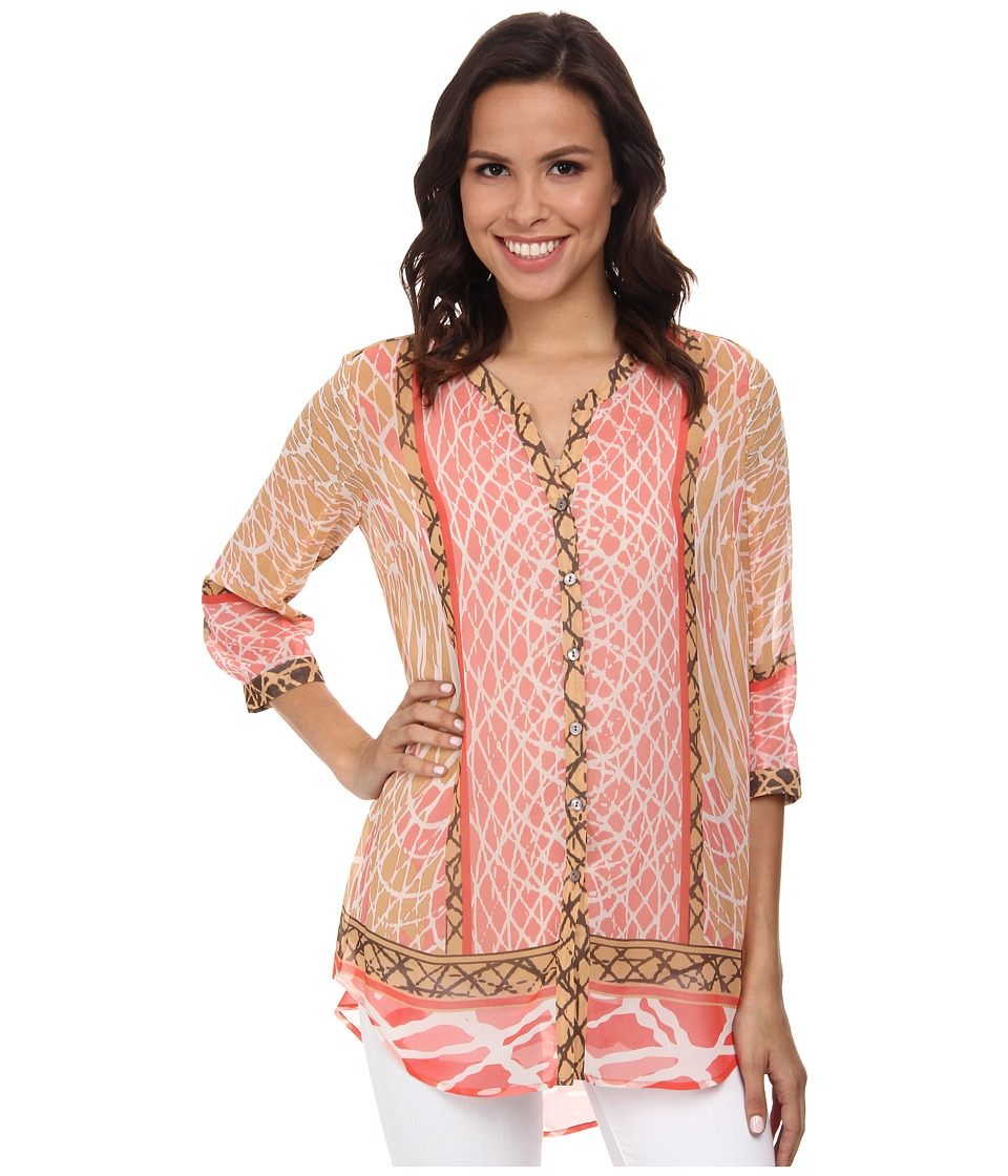 NIC+ZOE - Skipping Stones Tunic (Multi) Women