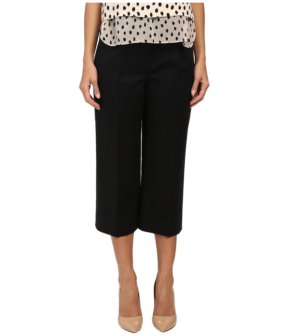 Kate Spade New York - Structured Culotte (Black) Women's Clothing