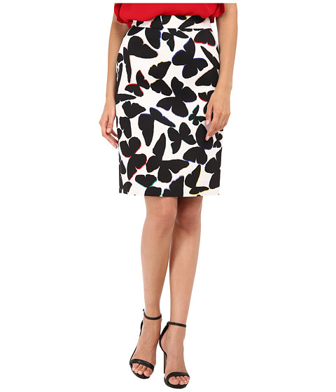 Kate Spade New York - Butterfly Marit Skirt (Multi) Women's Skirt