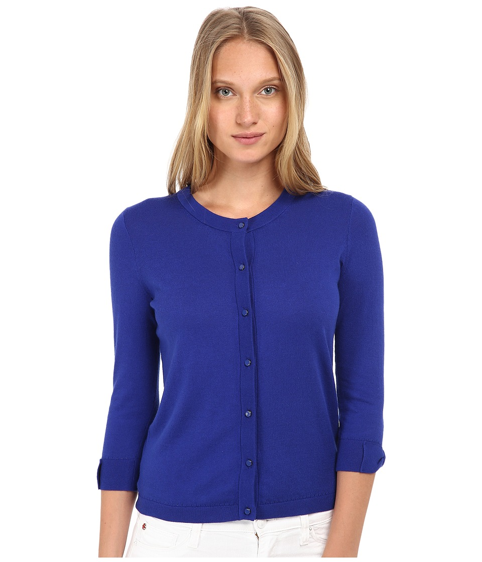Kate Spade New York - Somerset Cardigan (Lapis Blue) Women's Sweater