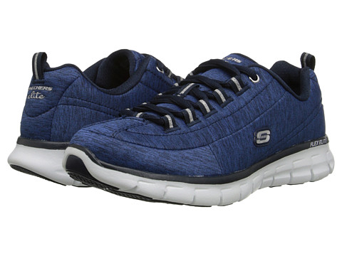 SKECHERS - Spot On (Navy) Women's Running Shoes