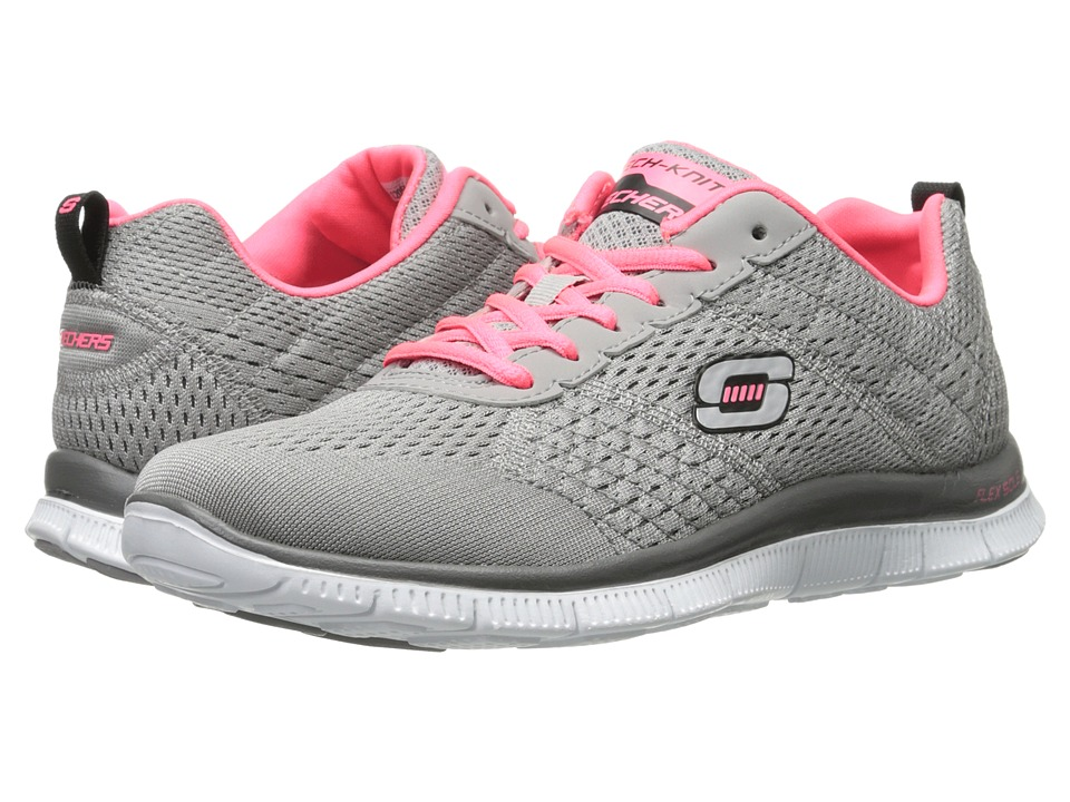 SKECHERS - Obvious Choice (Light Gray) Women's Shoes