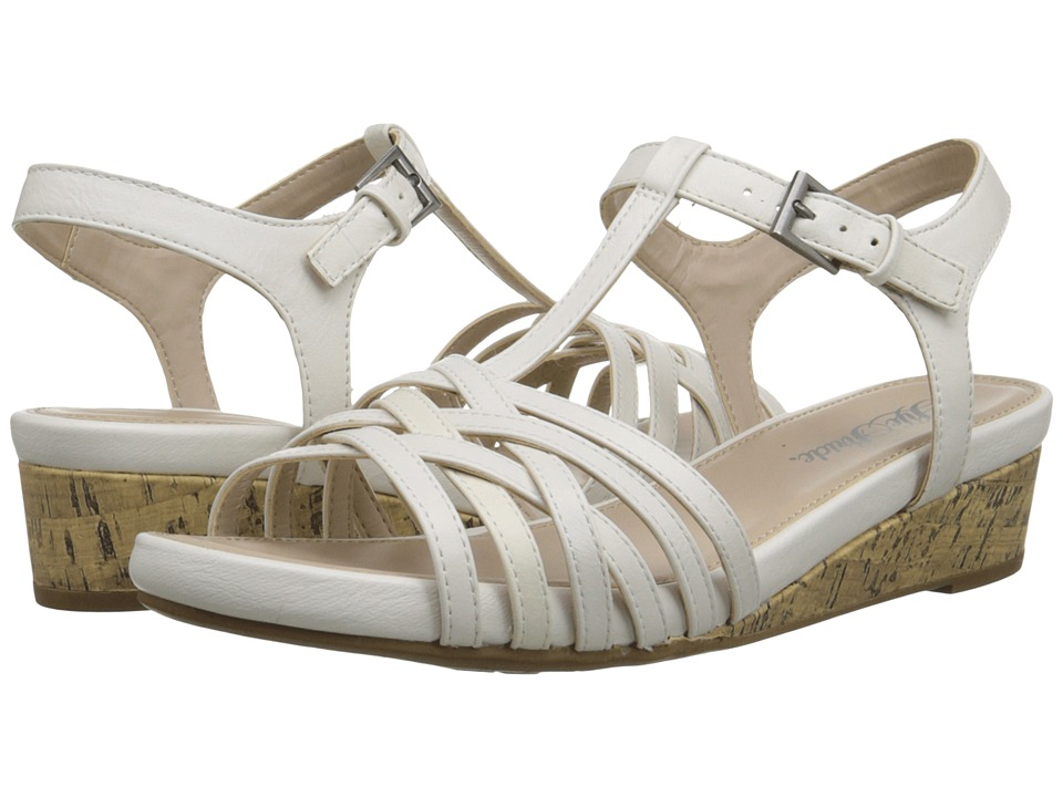 LifeStride - Feather (White) Women's Wedge Shoes