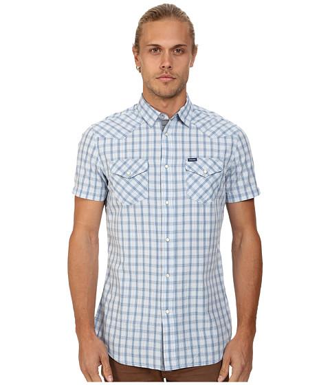 Diesel - Sulfura-Short Shirt (Light/Blue) Men's Clothing