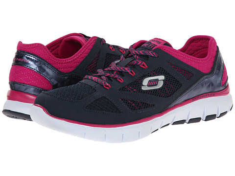 SKECHERS - Skech-Flex - Royal Forward (Nivay Pink) Women's Running Shoes