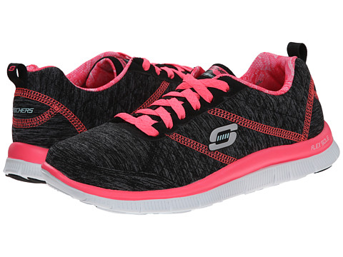 SKECHERS - Flex Appeal (Black Pink) Women
