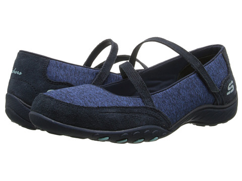 SKECHERS - Breathe-Easy - Miss Me (Navy) Women