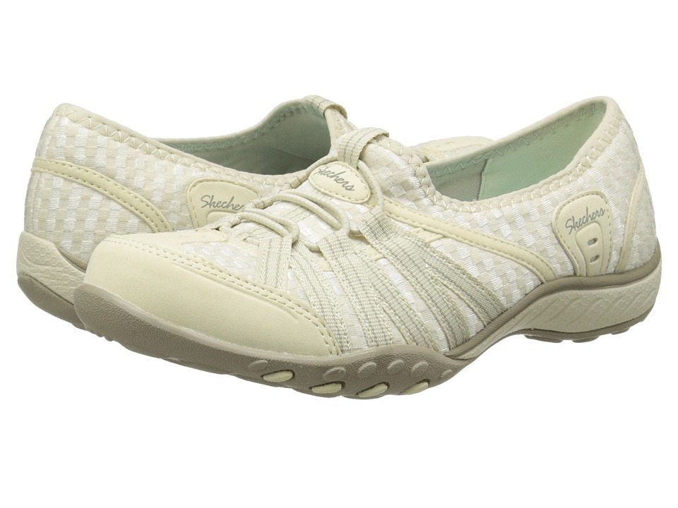 SKECHERS - Breathe-Easy - Dimension (Natural) Women's Flat Shoes