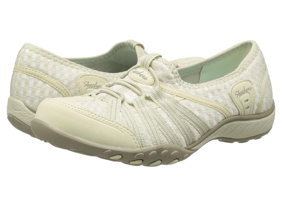 SKECHERS - Breathe-Easy - Dimension (Natural) Women's Flat Shoes