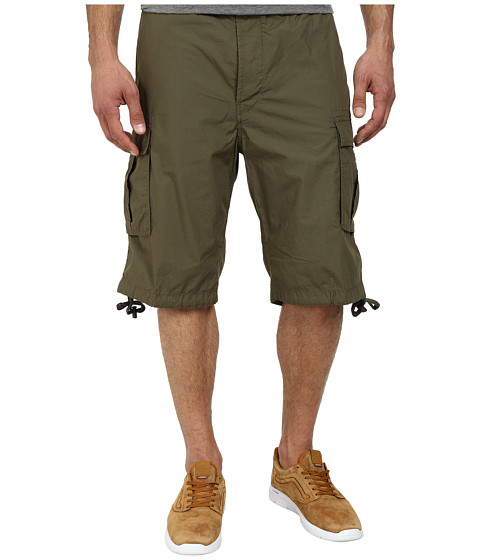 Diesel - P-Airal-Short Shorts (Military/Green) Men