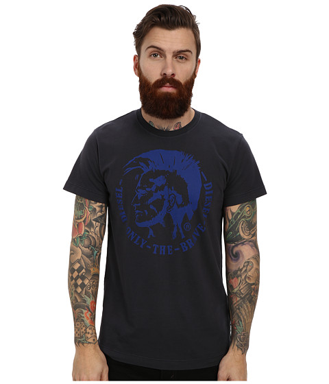 Diesel - T-Ulysse T-Shirt (Midnight/Blue) Men