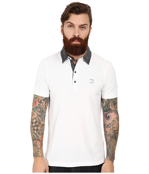 Diesel - T-Antho Polo (White) Men
