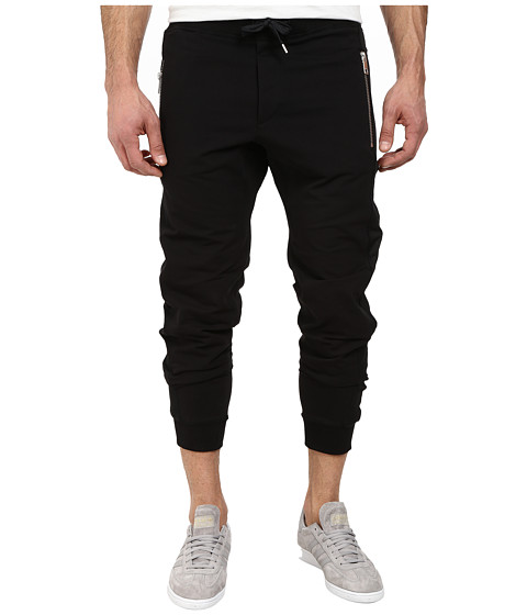 Diesel - P-Mes-Long Trousers (Black) Men's Clothing