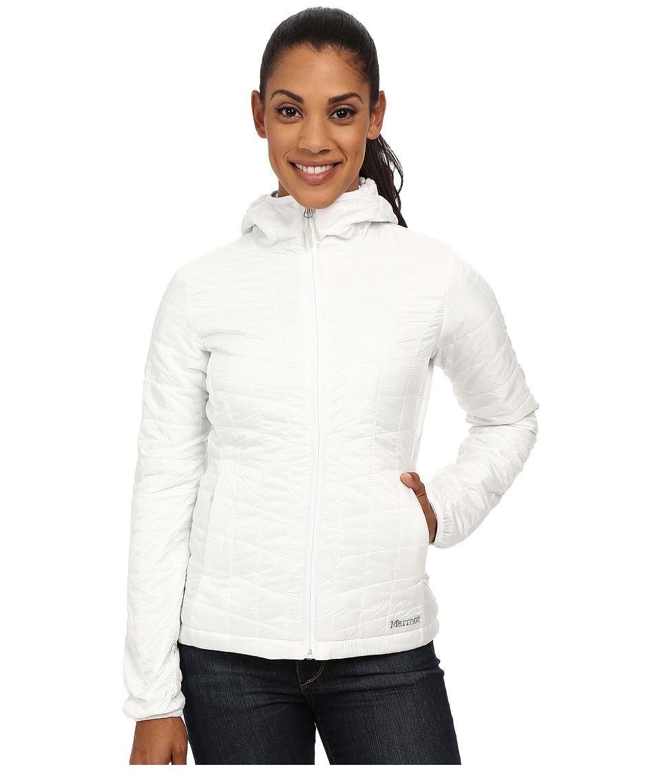 Marmot - Calen Hoodie (White) Women's Sweatshirt