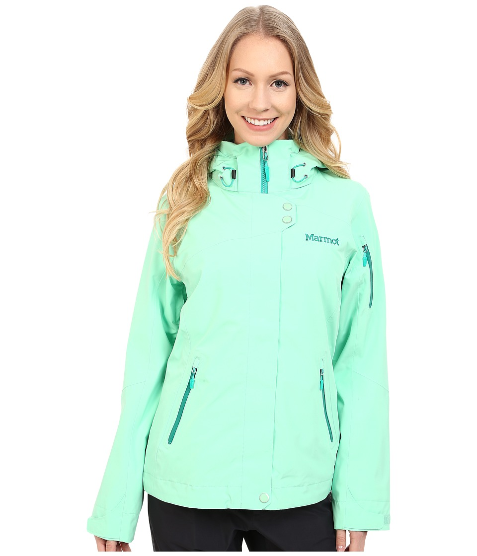 Marmot - Snow Queen Jacket (Green Frost) Women's Coat