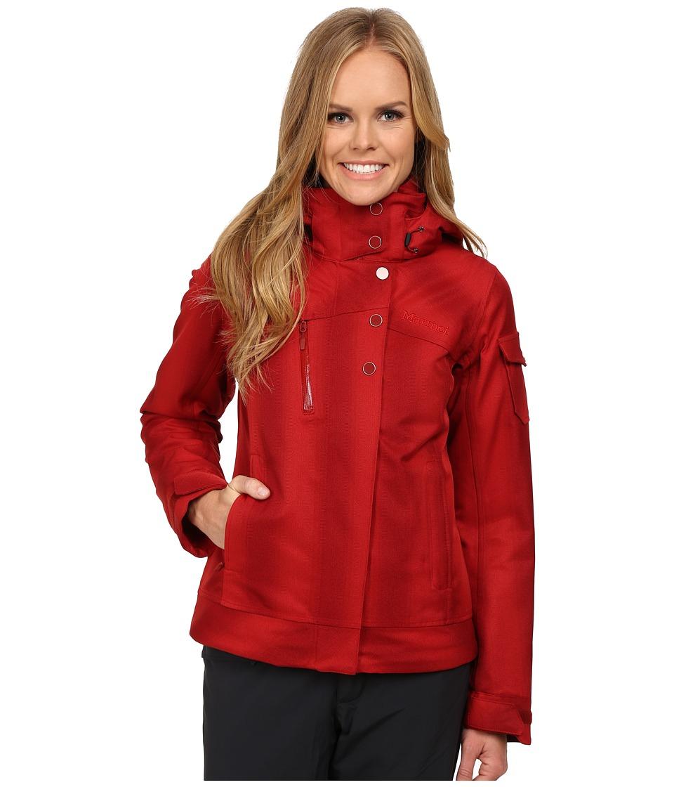 Marmot - Diva Jacket (Dark Crimson) Women's Coat