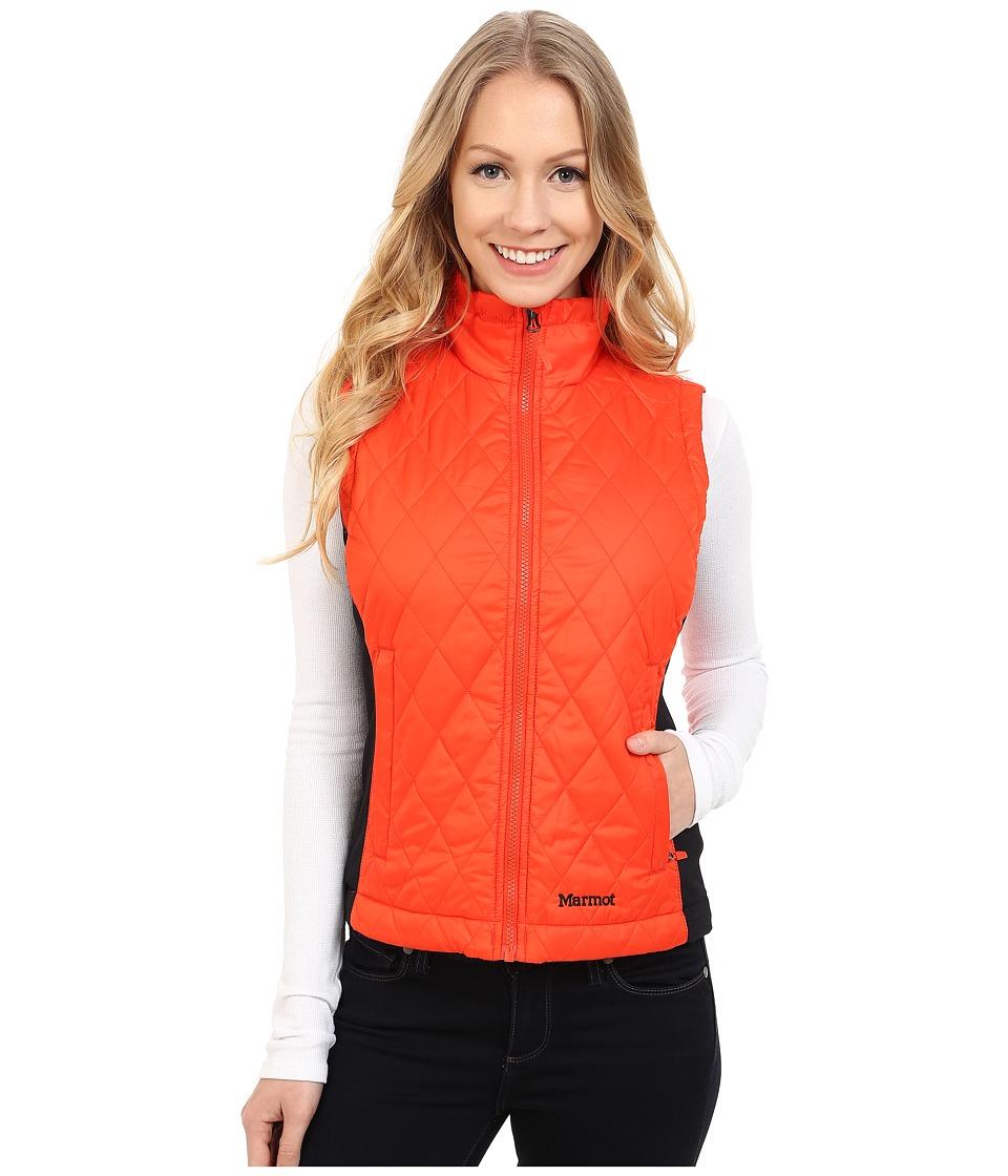 Marmot Kitzbuhel Vest (Coral Sunset) Women