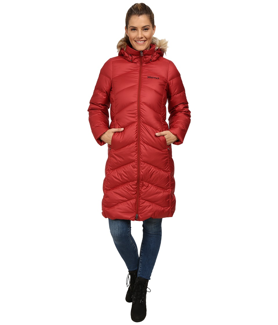 Marmot - Montreaux Coat (Dark Crimson) Women's Coat
