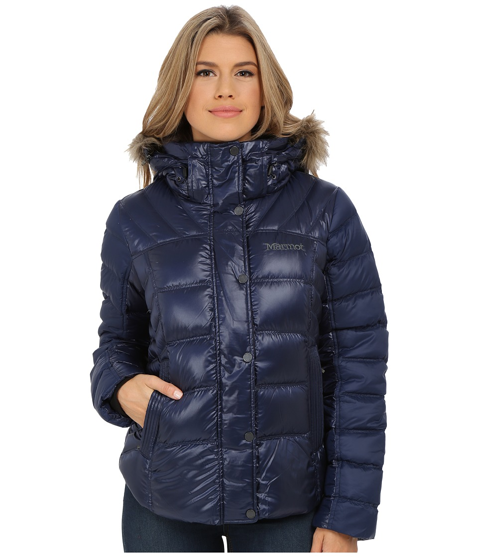 Marmot - Alexie Jacket (Midnight Navy) Women's Coat