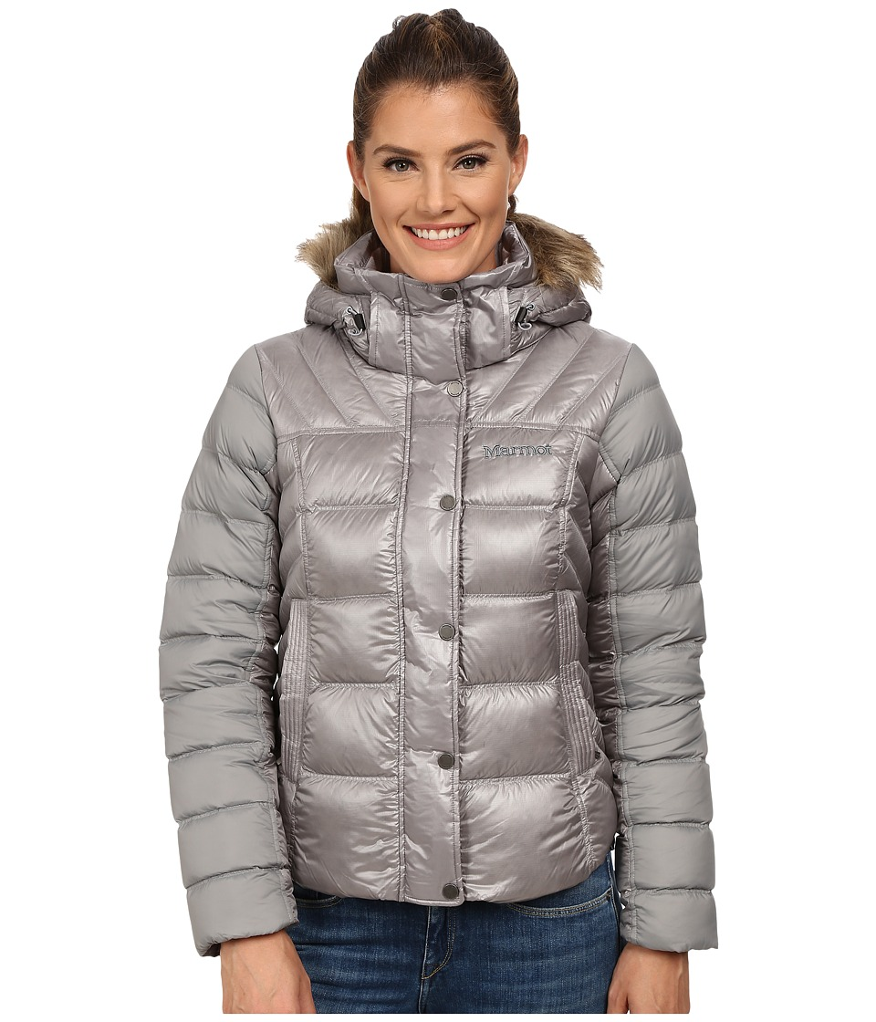 Marmot Alexie Jacket (Steel/Stealth Gray/Stealth Gray) Wo...