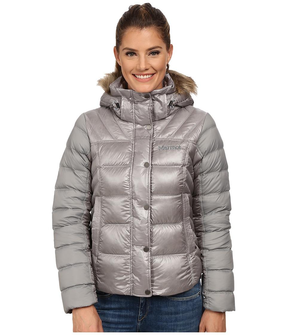 Marmot - Alexie Jacket (Steel/Stealth Gray/Stealth Gray) Women's Coat
