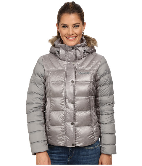 Marmot - Alexie Jacket (Steel/Stealth Gray/Stealth Gray) Women's Coat