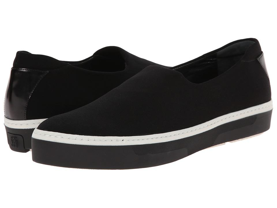 Stuart Weitzman - Flair (Black/Black Micro Suede) Women's Shoes