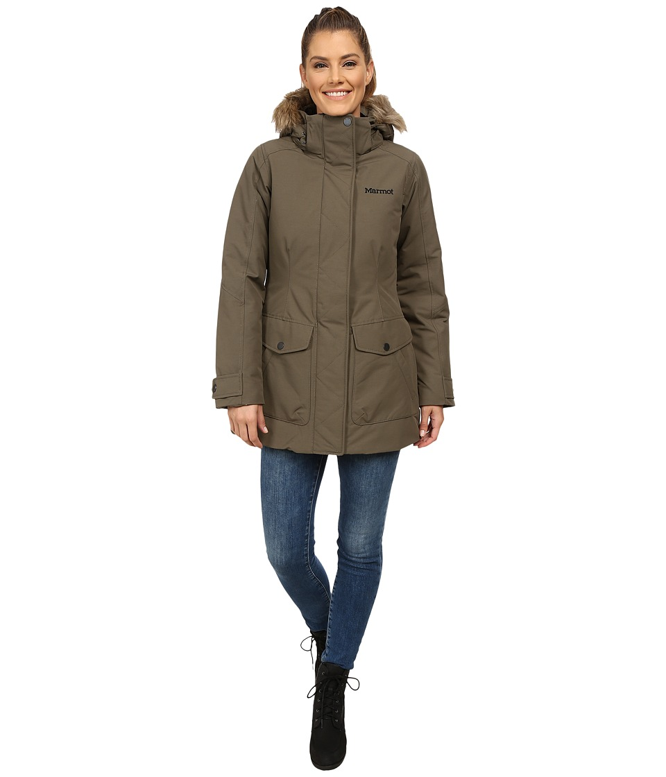 Marmot - Geneva Jacket (Deep Olive) Women's Coat