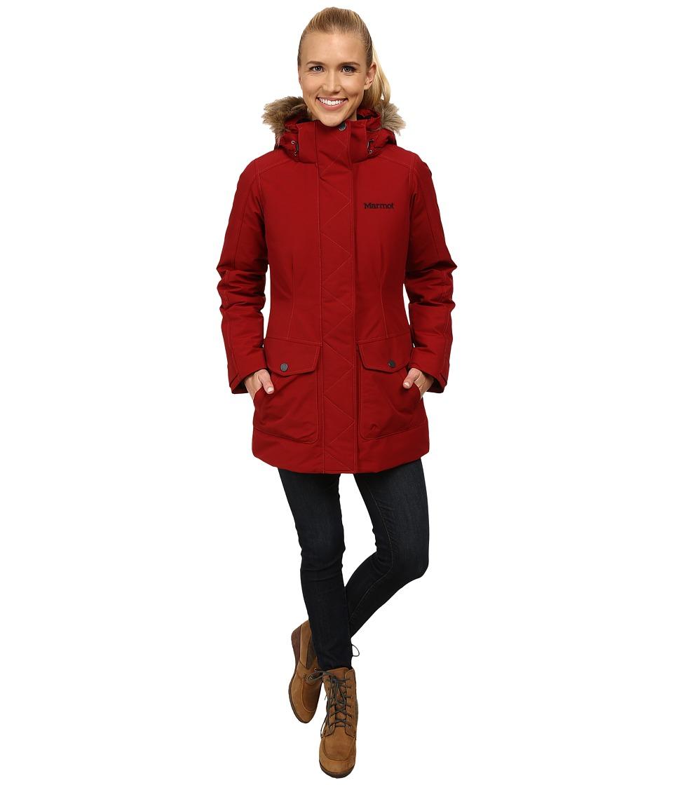 Marmot - Geneva Jacket (Dark Crimson) Women's Coat
