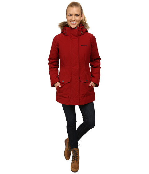 Marmot - Geneva Jacket (Dark Crimson) Women's Coat