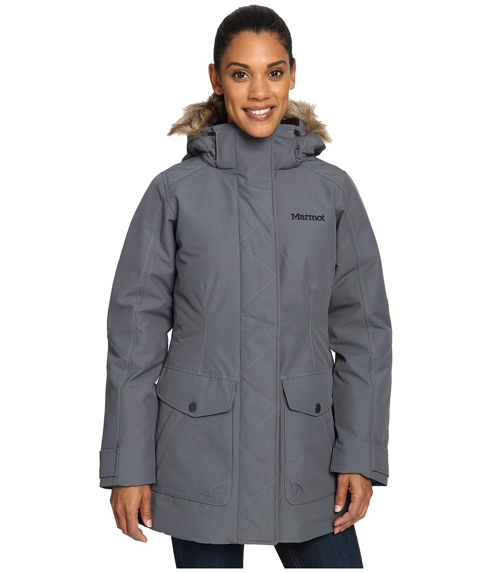 Marmot - Geneva Jacket (Steel Onyx) Women's Coat