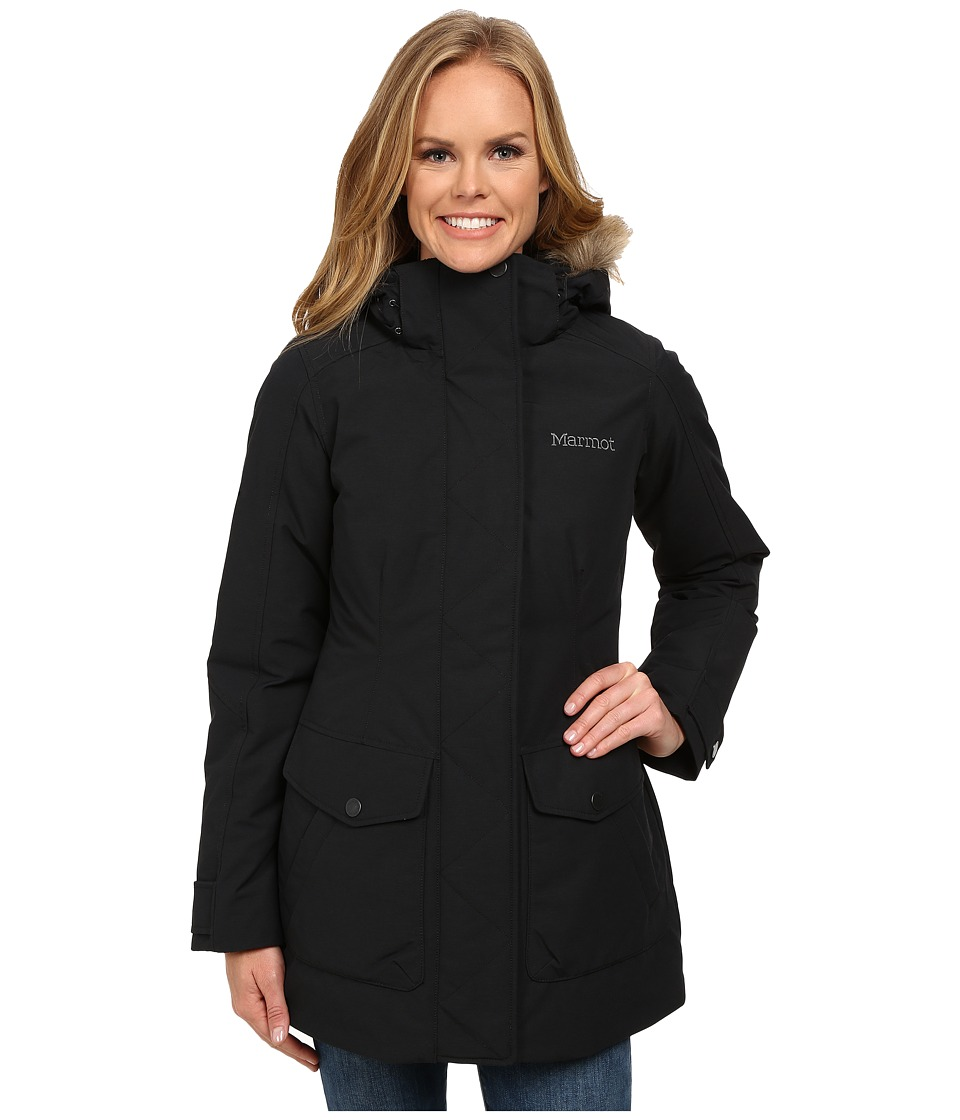 Marmot - Geneva Jacket (Black) Women's Coat