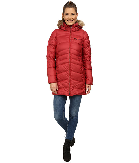 Marmot - Montreal Coat (Dark Crimson) Women's Coat