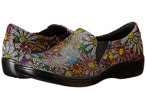 Spring Step - Bluebell (Floral Leather) Women's Shoes