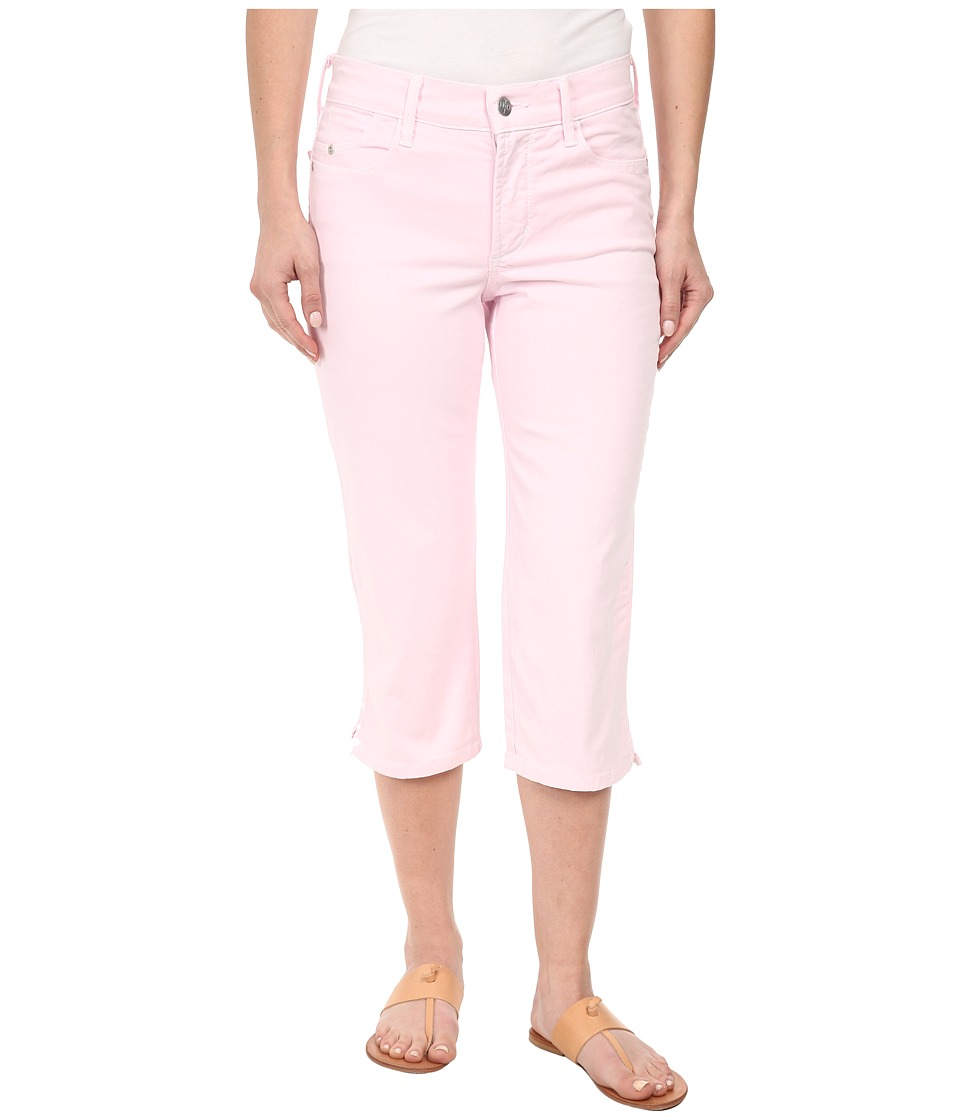 NYDJ Petite - Petite Ariel Crop Twill in Posey Pink (Posey Pink) Women's Casual Pants