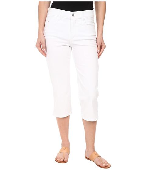 NYDJ Petite - Petite Ariel Crop Twill in Optic White (Optic White) Women's Jeans