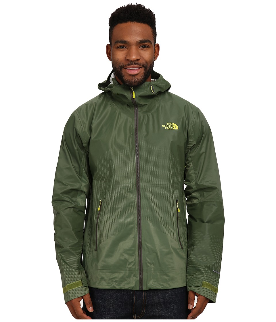 The North Face - FuseForm Dot Matrix Jacket (Scallion Green Tri Matrix) Men's Coat