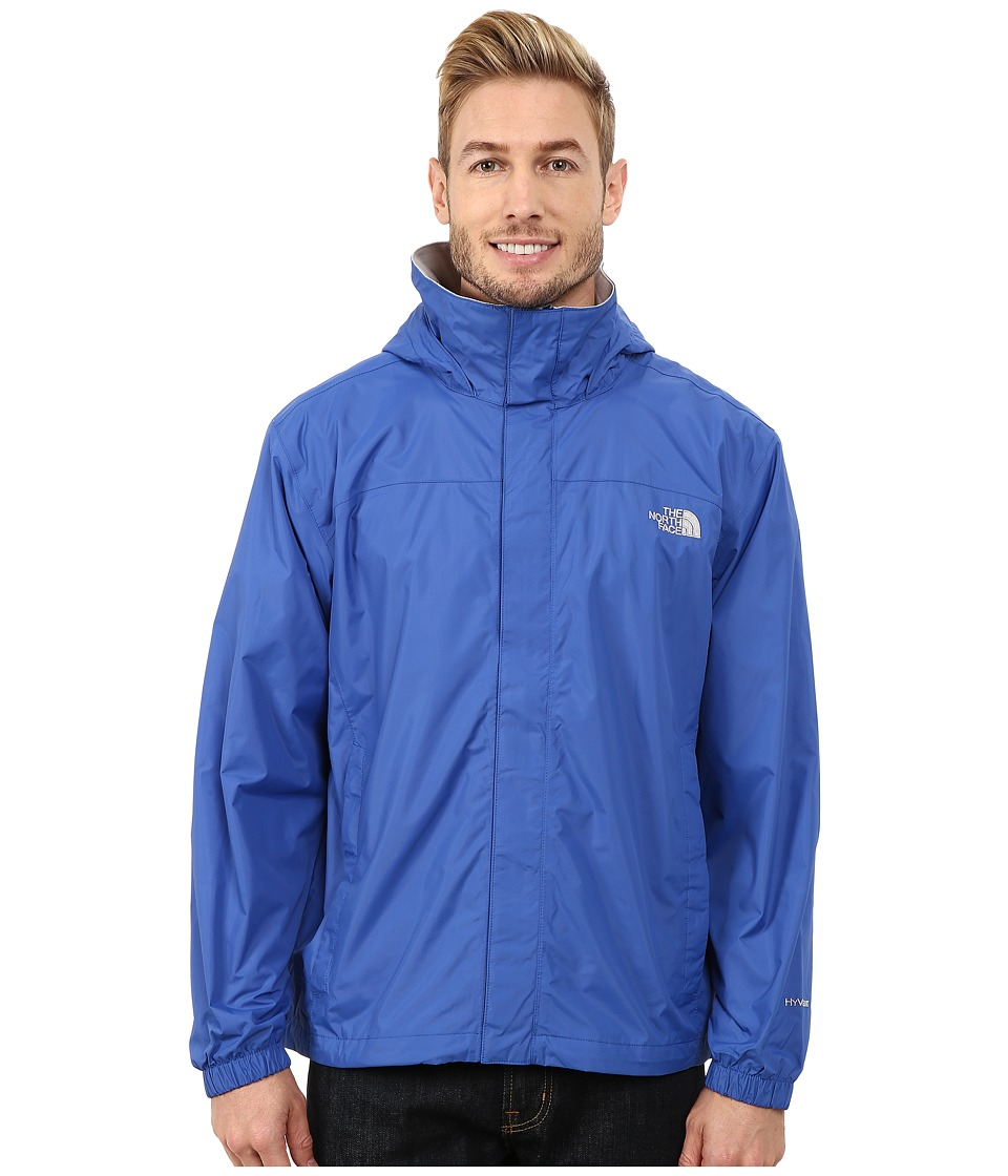 The North Face - Resolve Jacket (Monster Blue) Men's Sweatshirt