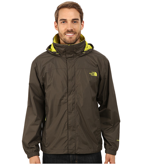 The North Face - Resolve Jacket (Black Ink Green) Men's Sweatshirt